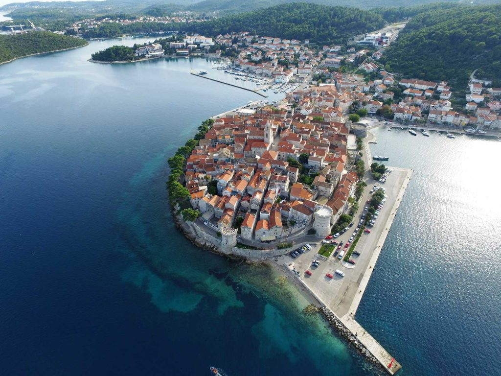 The unique places in Croatia with UNDER the HEAVENS